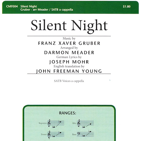 Silent night new york voices silent night stopboris Image collections
